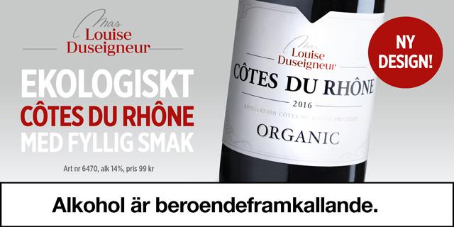 Bästa röda vinerna från Frankrike – Mas Louise för 99 kr