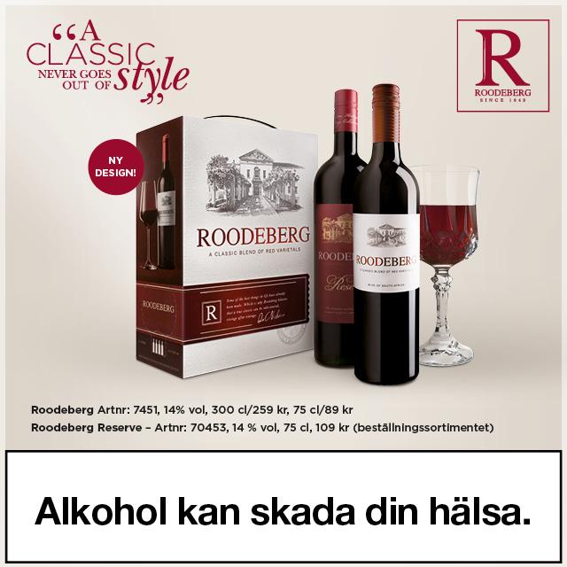 Sommerens vin till grillat: Roodeberg, i flaska & bag in box.