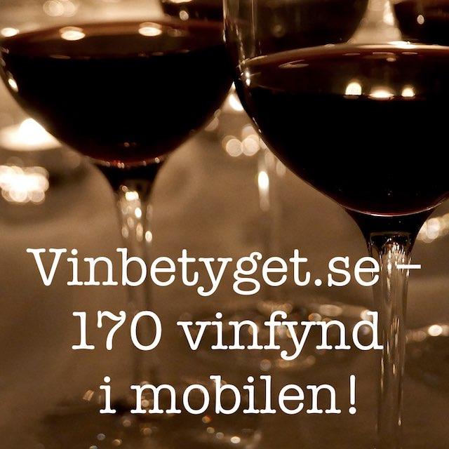 Svårt att välja vin? Se 170 vintips i mobilen!