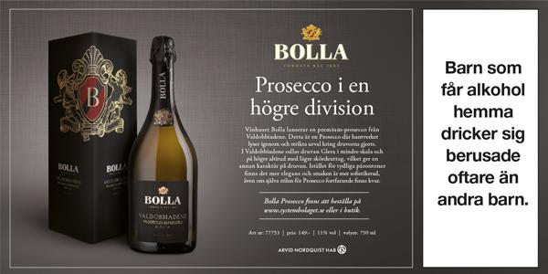 Bästa proseccon, Bolla Prosecco Superiore