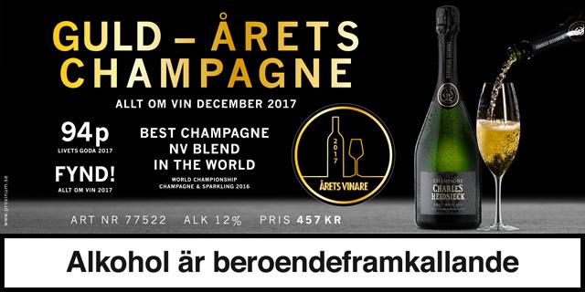 Världens bästa non-vintage Champagne: Charles Heidsieck