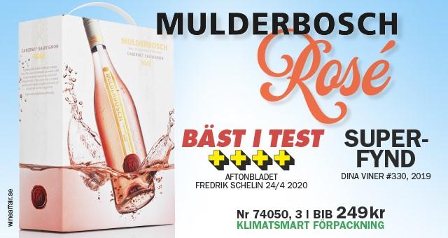 Rosébox, Fynd: Mulderbosch!