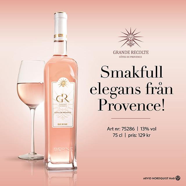 Bästa rosévinerna 2019: Grande Recolte, på Vinbetygets topplista!