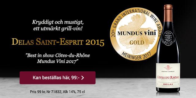 Rött vin Côtes-du-Rhône: Delas Saint-Esprit