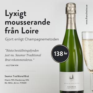 Mousserande vin från Loire: Saumur