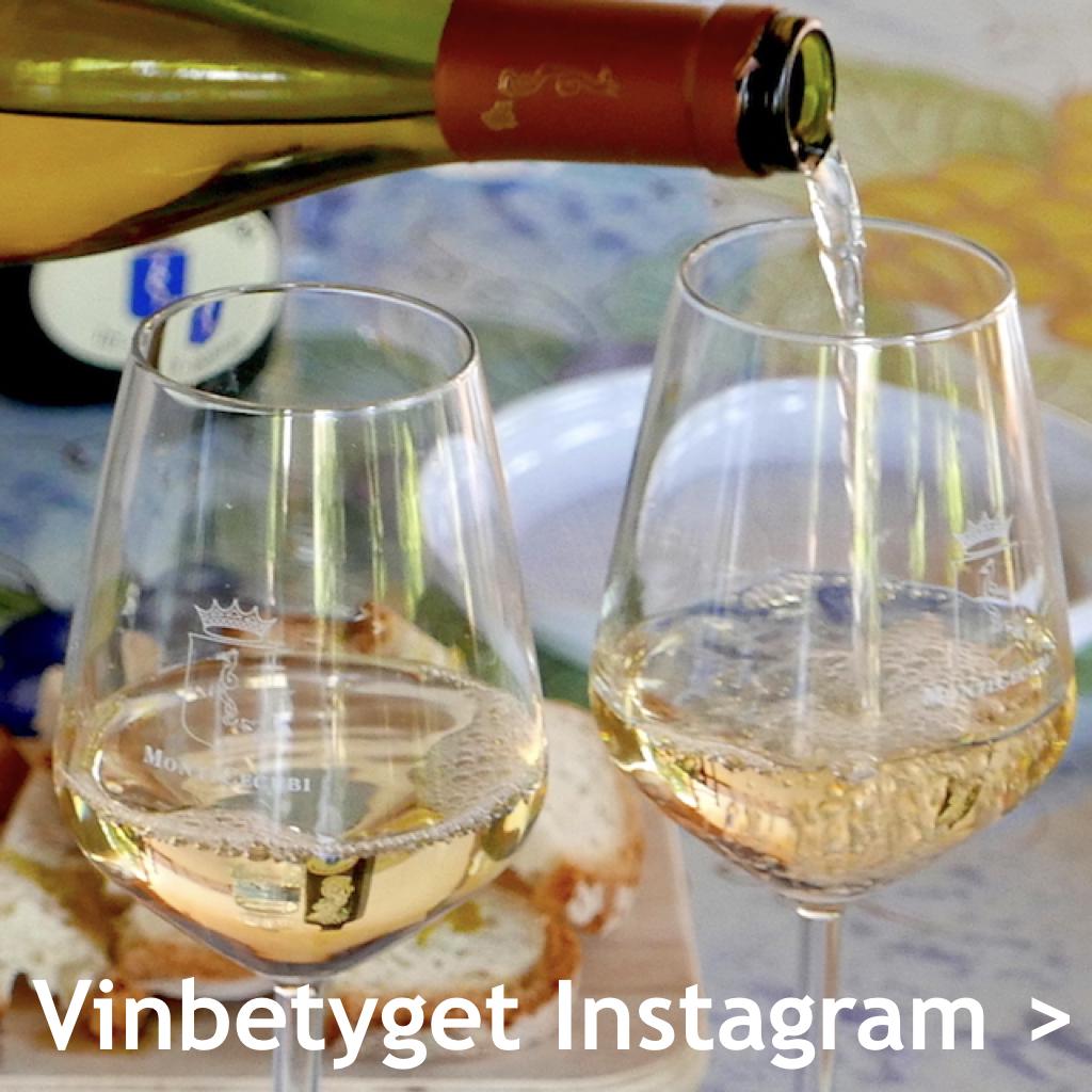 Välja vin? Goda vintips & matkombinationer på Vinbetyget Instagram