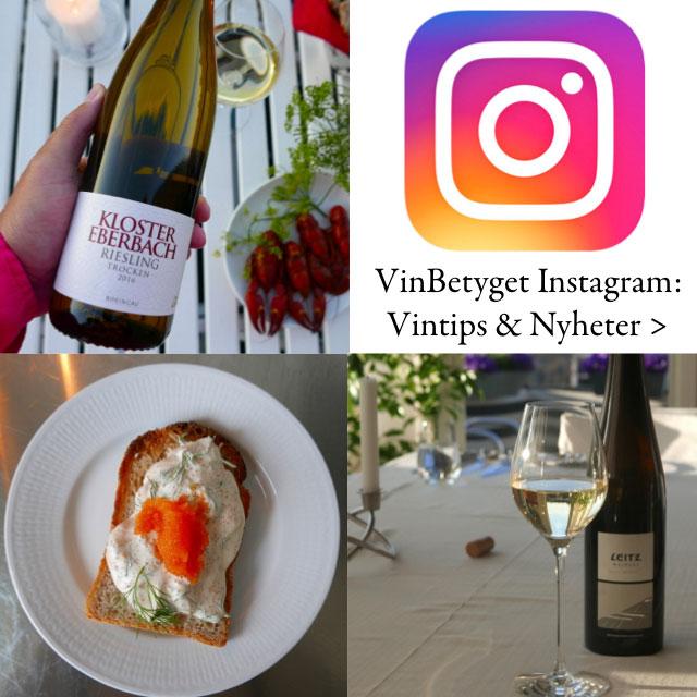 Vinbetyget Instagram: Tips om bästa vita vinerna 2019