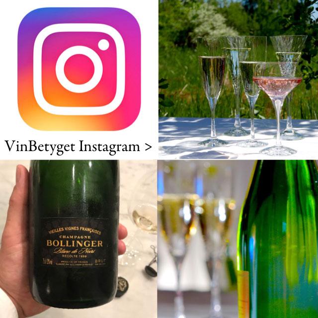 Vinbetyget Instagram: Tips och nyheter om Champagne >