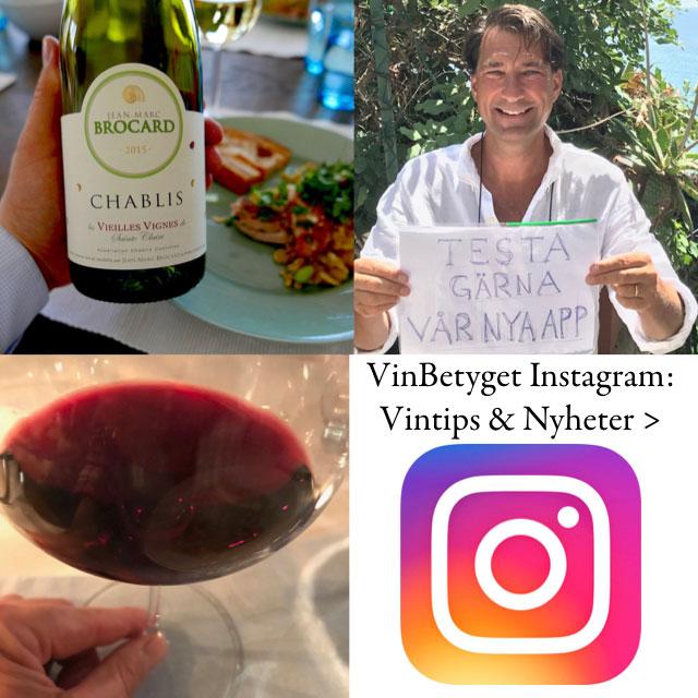 Vinbetyget- Instagram tips om nyheter och bästa vinerna