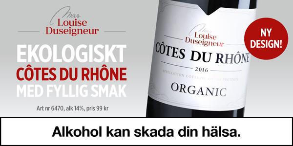 Franskt vin perfekt till grillat – Mas Louise för 99 kr