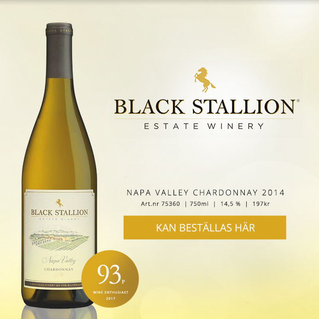 Tips på chardonnay: Black Stallion 197 kr