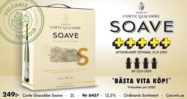 Vitt boxvin fynd från Italien: Soave 249 kr