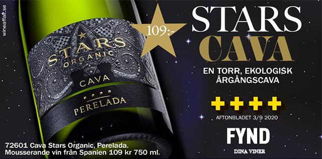 Cava Stars fynd: 109 kr