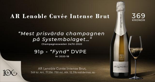 Champagne Lenoble - Fynd för 369 kr