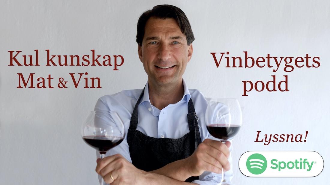 Kunskap om mat och vin: Lyssna på Vinbetygets podd