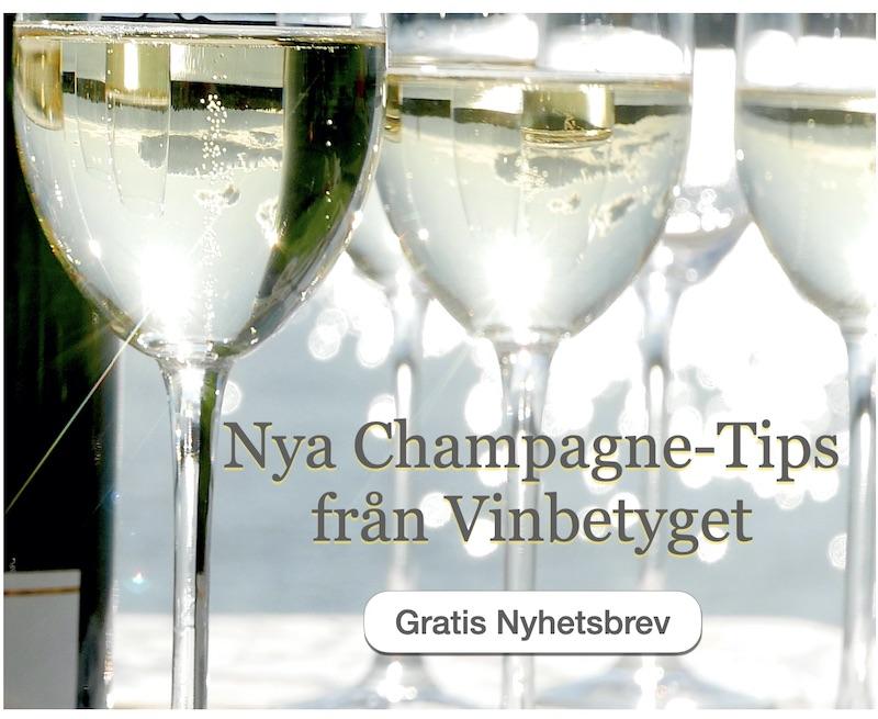 Champagne – fynd med höga betyg. Se nyhetsbrevet