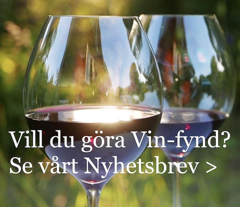 Nya viner och vintips-prenumera på Vinbetygets nyhetsbrev
