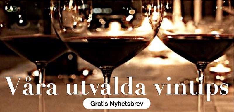 Våra utvalda viner med höga betyg