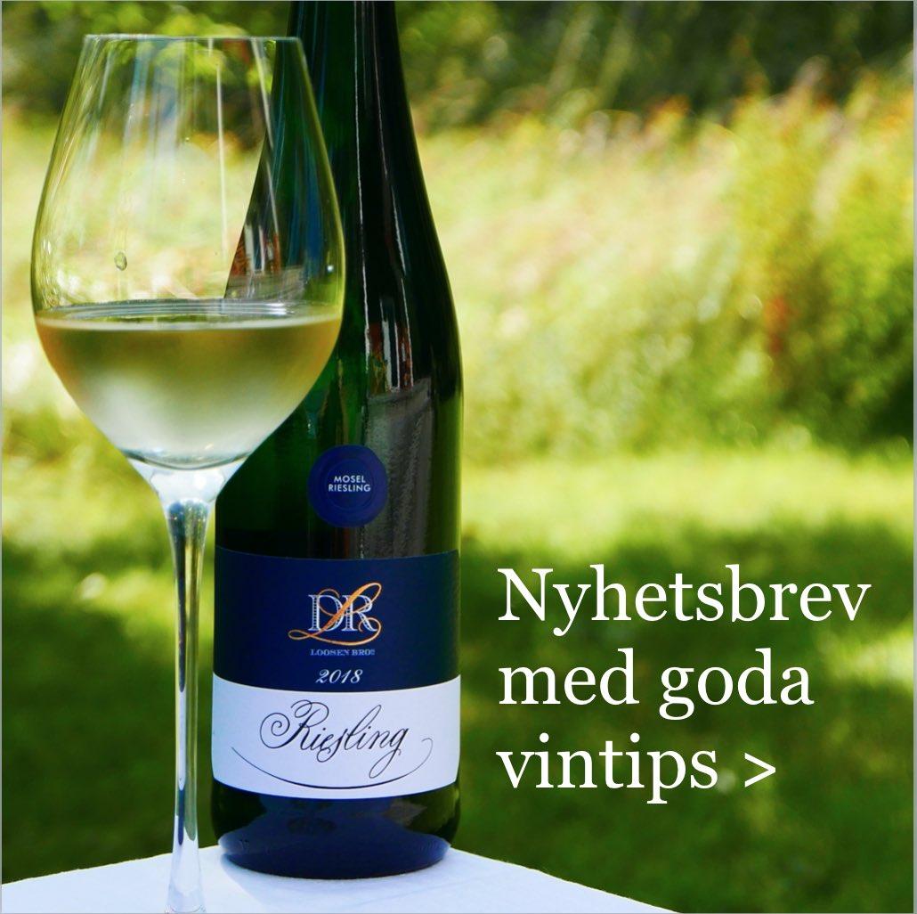 Goda vintips i Vinbetygets nyhetsbrev