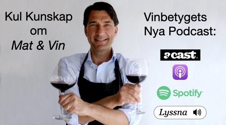 Podd med mat och vintips- Vinbetyget