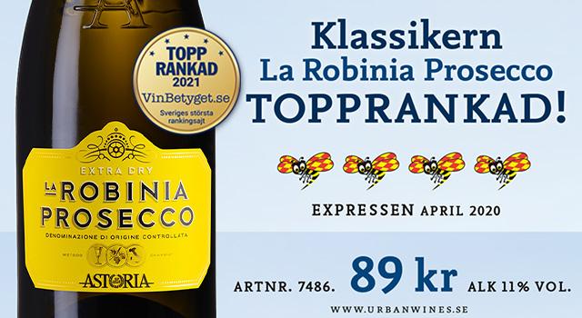 Prosecco La Robinia 89 kr