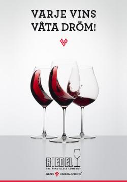 Vilka vinglas är bäst? Prova klassiska Riedel