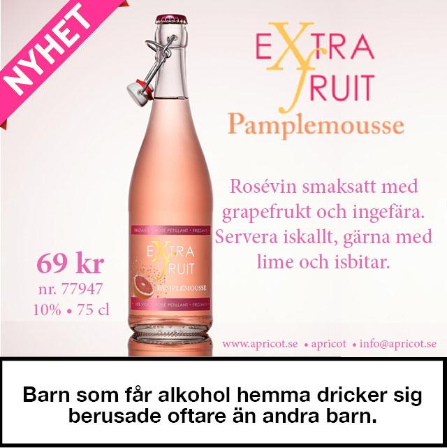 Nytt prisvärt rosévin – Pamplemousse 69 kr