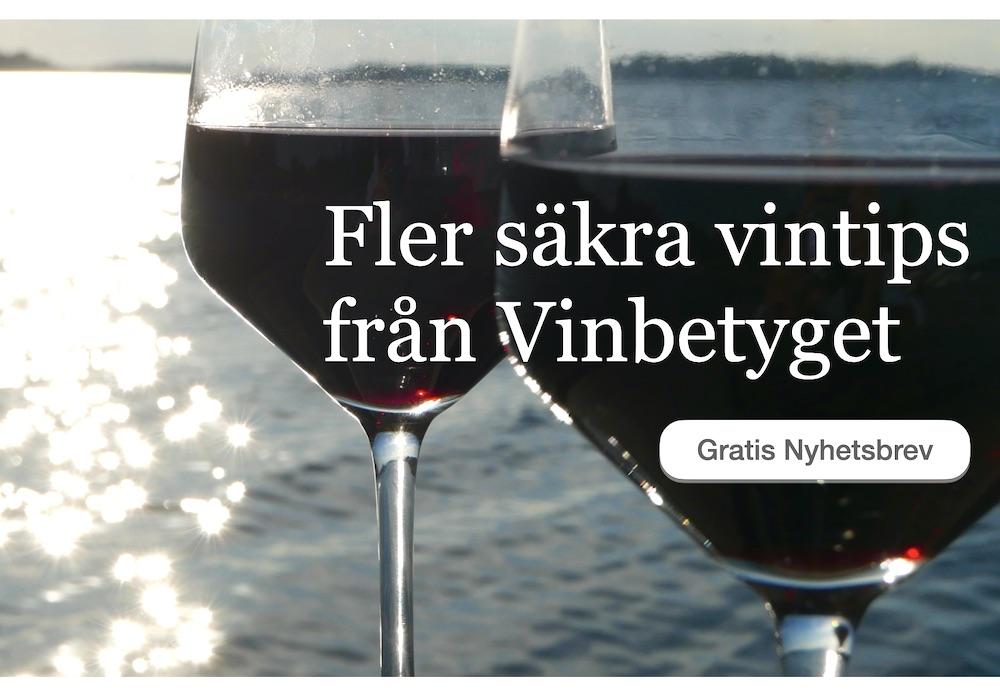 Nya röda viner - se Vinbetygets nyhetsbrev