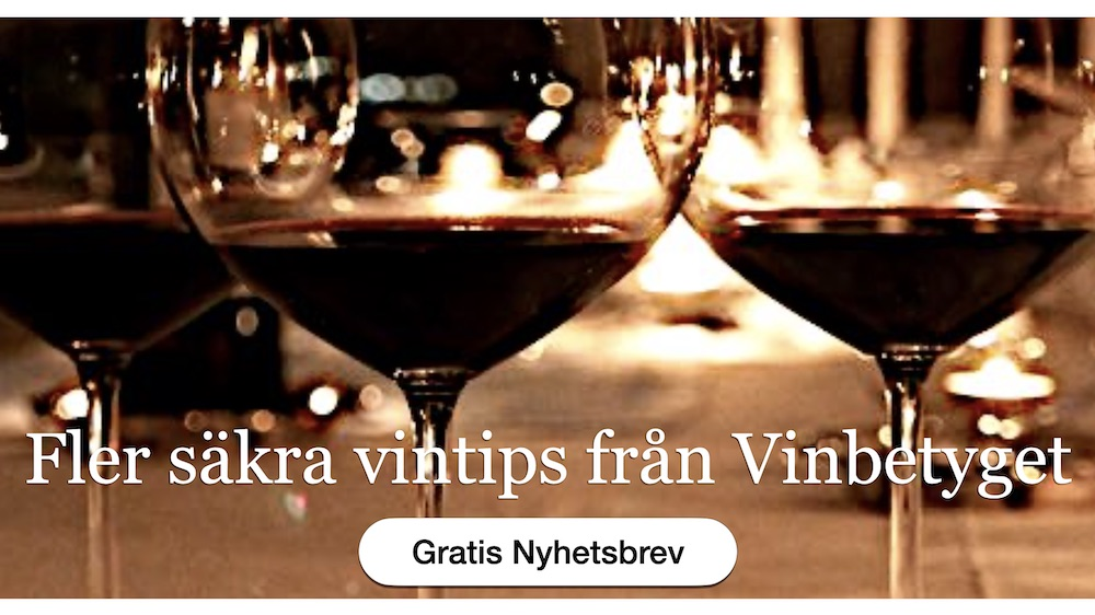 Vin nyhetsbrev med olika sorter