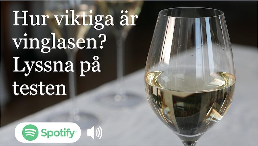 Vilka vinglas är godast? Lyssna på Vinbetygets podcast