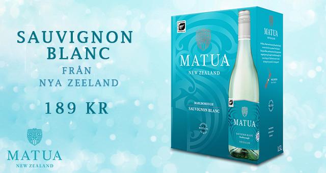 Vitt vin bag in box: Matua Sauvignon blanc – Fynd för 189 kr!
