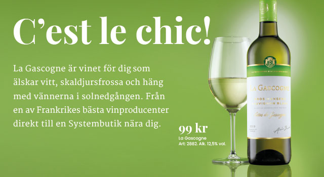 Torrt vitt vin: La Gascogne 99 kr