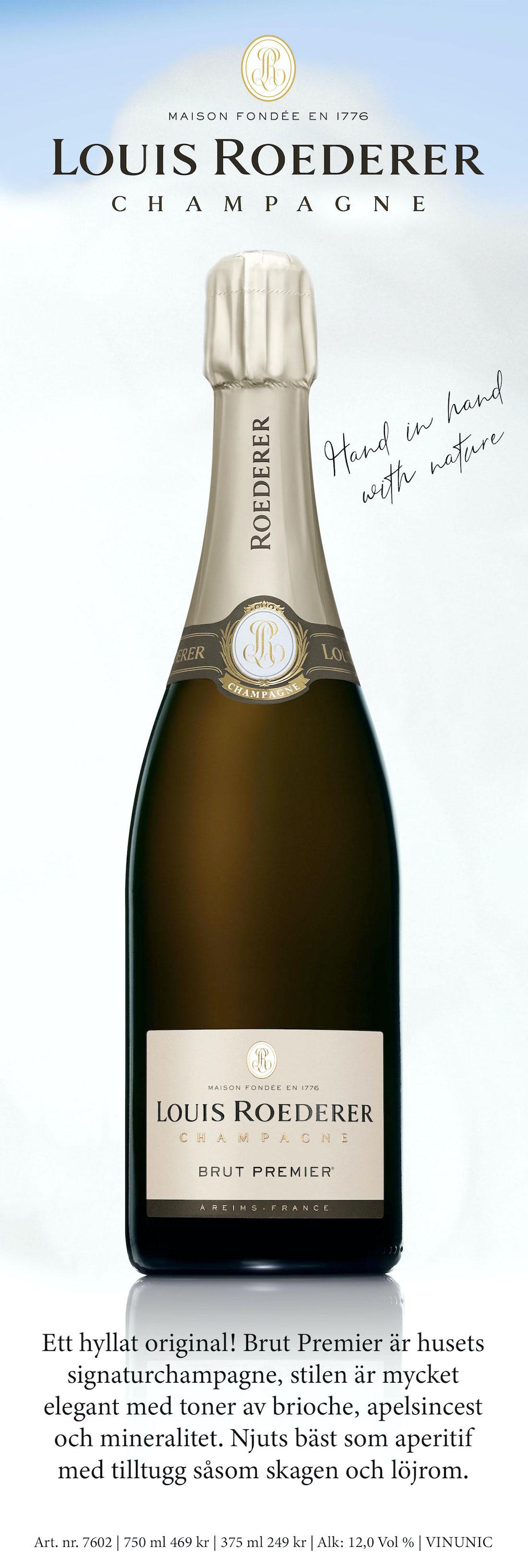 Champagne på Systembolaget: Louis Roederer