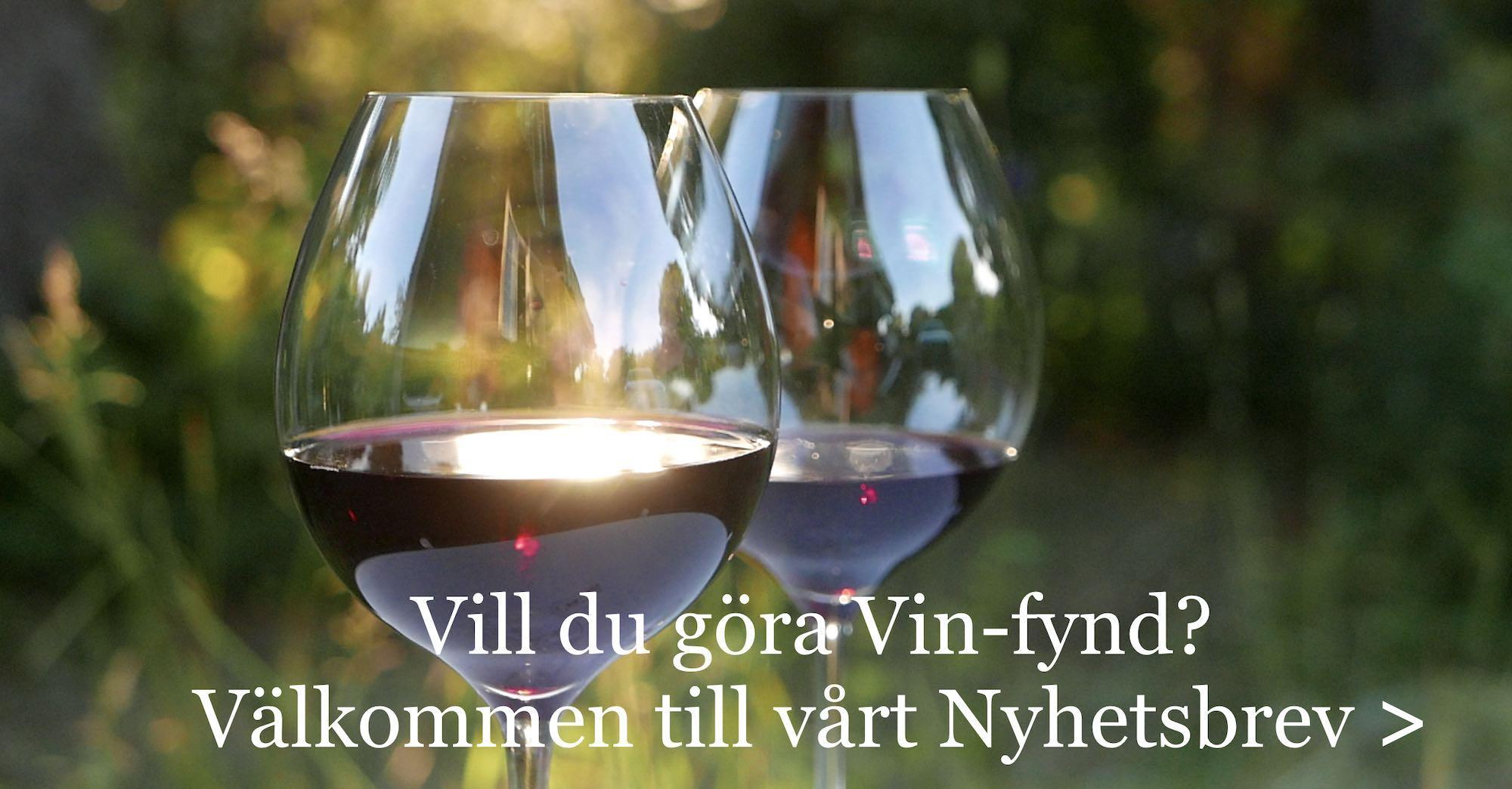Tips goda viner och nyheter på Systembolaget