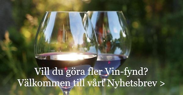 Tips på goda viner och nyheter på Systembolaget
