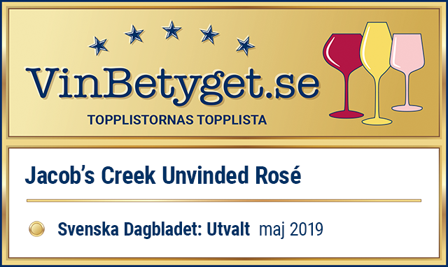 Vin betyg: ROSÉVIN: Jacob's Creek UnVined Rosé  (art nr 1907)