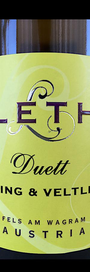 Leth Duett Riesling & Veltliner vintips vitt vin