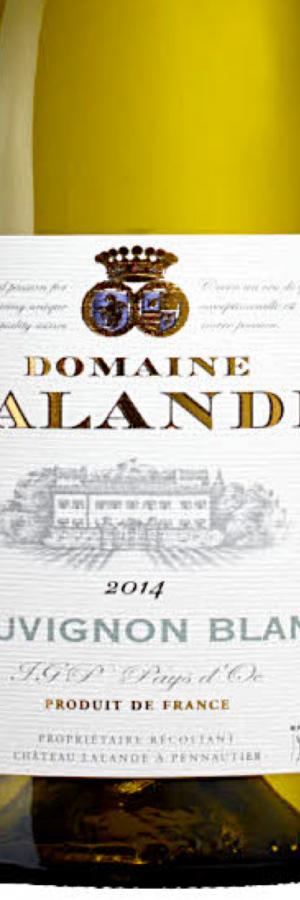 Vinbetyget Domaine Lalande, vintips vitt vin