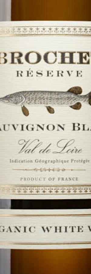 Brochet Reservé 78967, ekologiskt vitt vin med högsta betyg