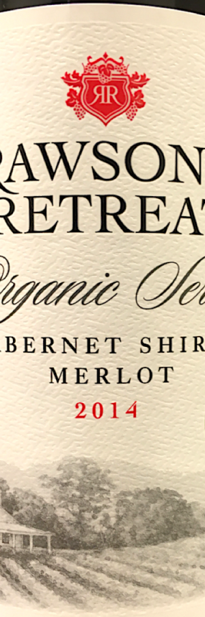 Rawson's Retreat Organic series, rött vin vintips