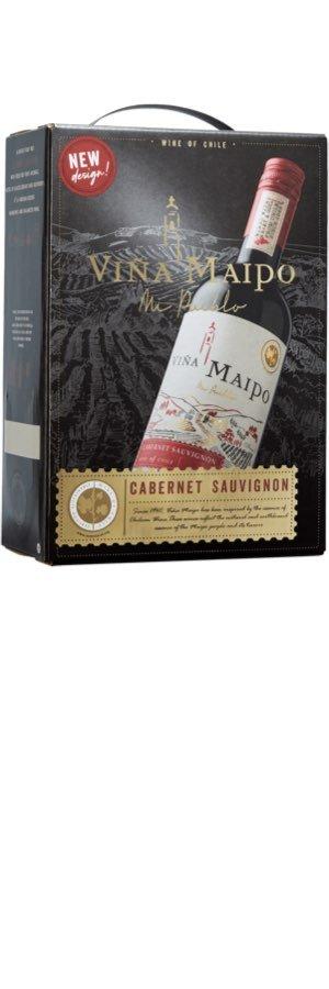 Bästa bag in box: Viña Maipo Cabernet Sauvignon