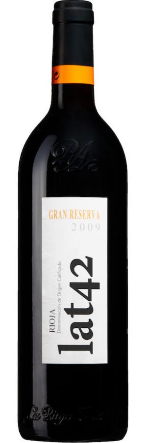 Vintips Spanien-Rioja: Lat 42. rankas Vinbetygets topplista och vinapp