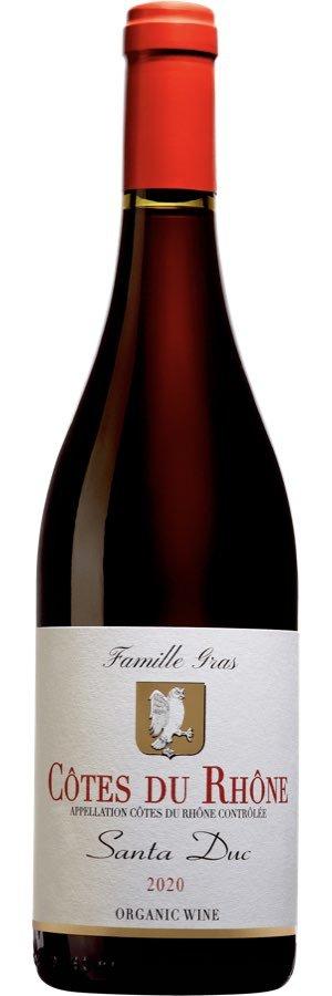 Bästa franska vinerna: Santa Duc Cotes du Rhone