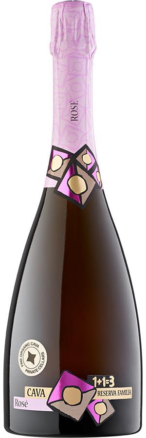 Cava Pinot Noir Rosé 1+1=3