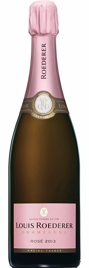 Rosé champagne Louis Roederer Rosé 2013