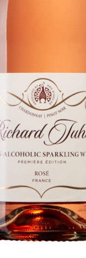 Richard Juhlins Rosé-bubbel utan alkohol. Bästa alkoholfria mousserande 2019. Rankas på Vinbetygets alkoholfria lista.