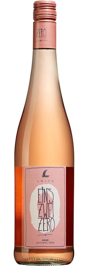 ROSÉVIN: Alkoholfritt rosévin: Leitz Eins Zwei Zero
