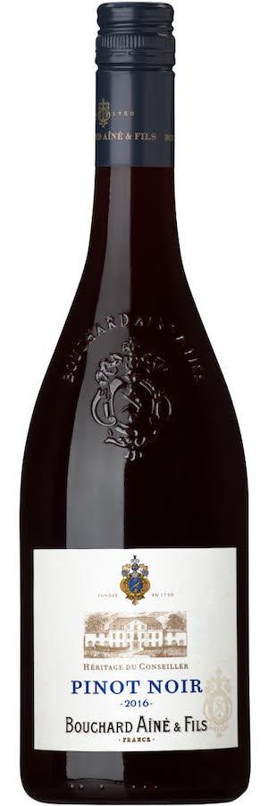 Prisvärd Pinot noir Bouchard, Vinbetyget