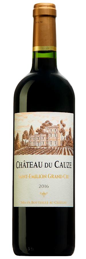 Château du Cauze Saint-Emilion Grand Cru 2016