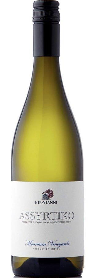 Vitt vin från Grekland: Rekommenderas: Kir Yianni Assyrtiko, Vinbetyget